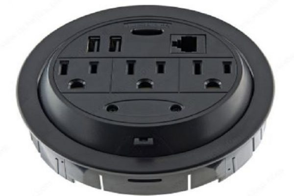 Richelieu 3 Outlets Power Grommet