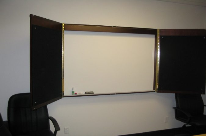 Visual Wall Board Cabinet