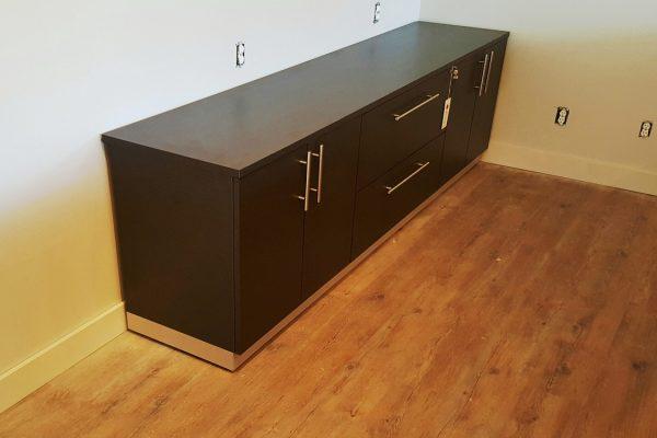 Storage & Lateral File Credenza