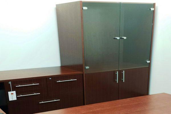 Combo File Credenza & Storage Cupboard