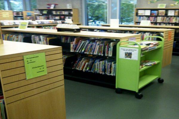 Library Shelving 50/50 Slatwall