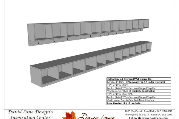 Bench Seating & Storage