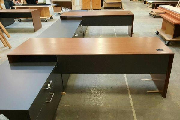 Dual Bench Style Desks