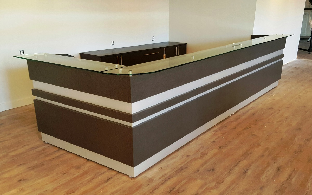 modern fashion cashier office guangdong bar reception plate desk table p front furniture