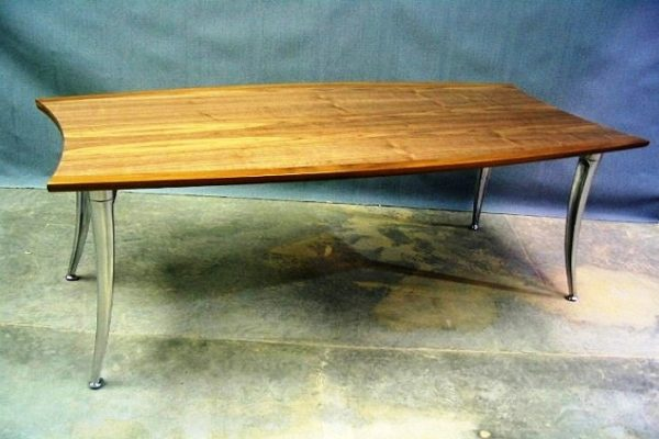 Coffee Table With Metal Legs