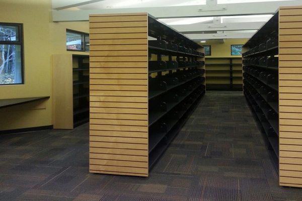 Metal Rack Slotted End Panels