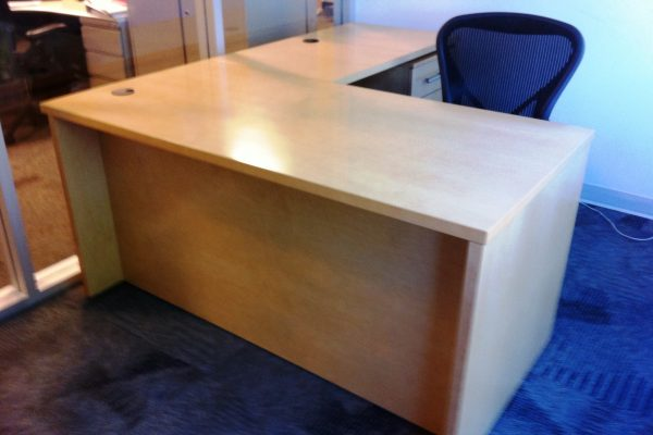 Veneer Rectangular Desk