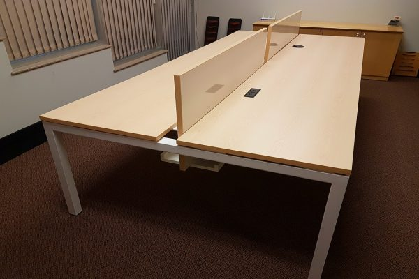 Fully Customizable & Expandable - Metal Benching System