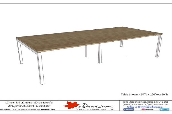 Metal Frame Tables - Custom Sizes & Heights