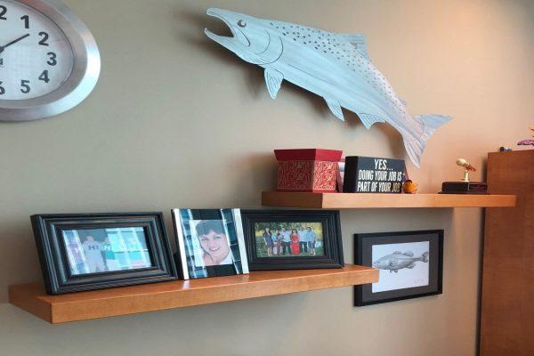Floating Shelves With Hidden Hardware