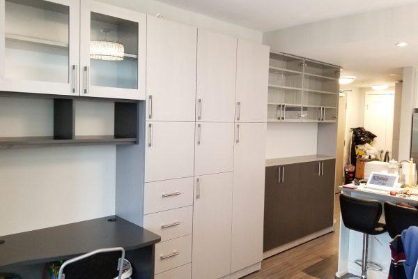 Custom Home Cabinets & Workstation
