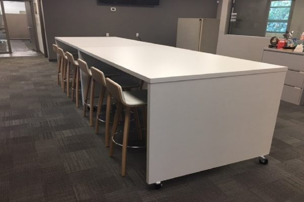 Mobile Lunch Room Table
