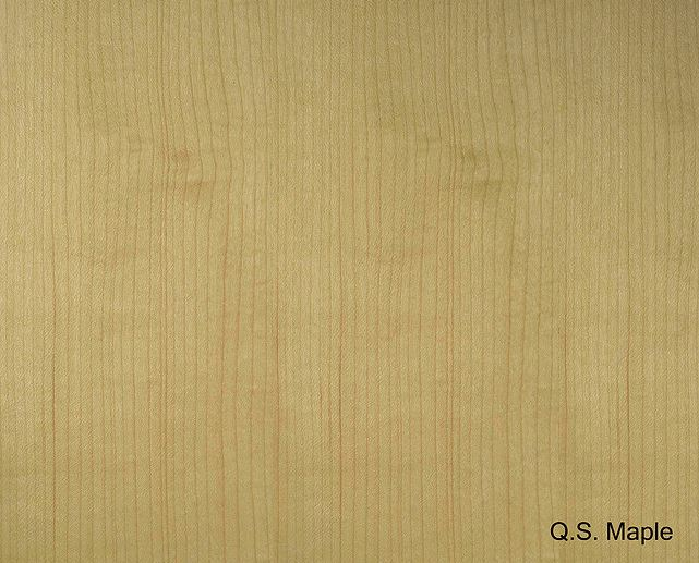 Quarter Cut Maple