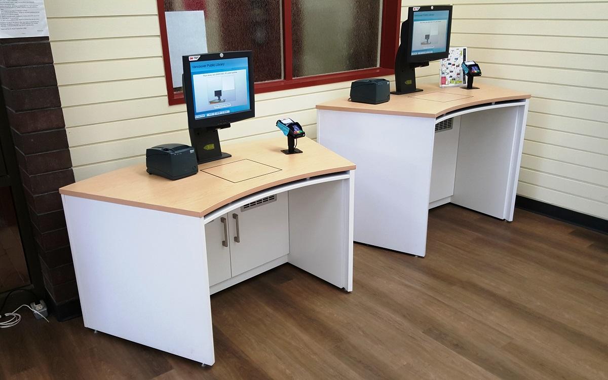 Designer Corner Desk