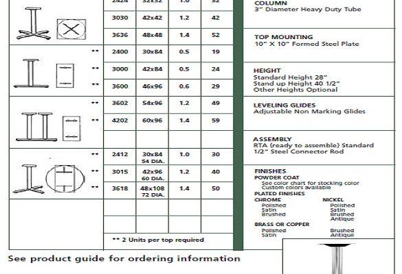 VM - HFL Series Specs