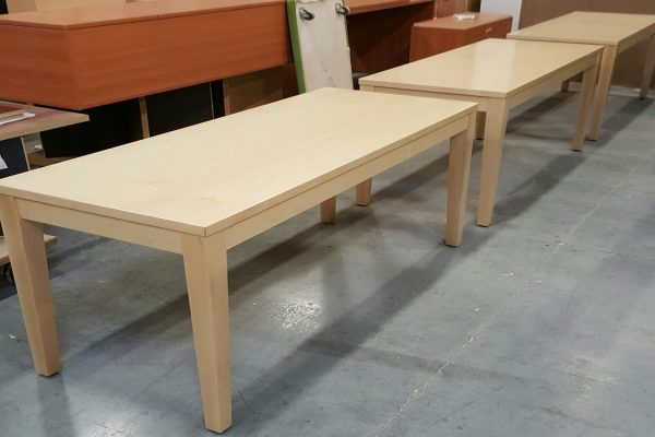 Veneer Top With Solid Wood Tapered Legs