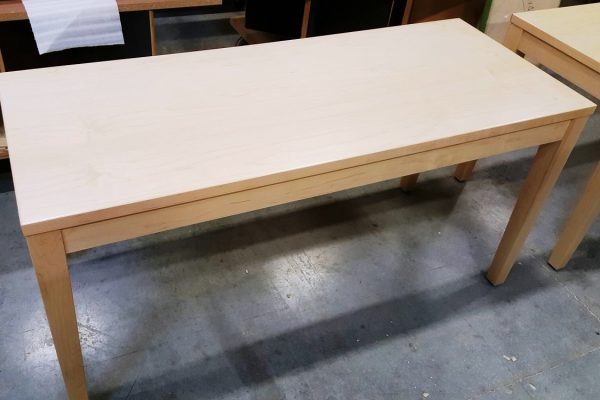 Veneer Top With Solid Wood Tapered Legs