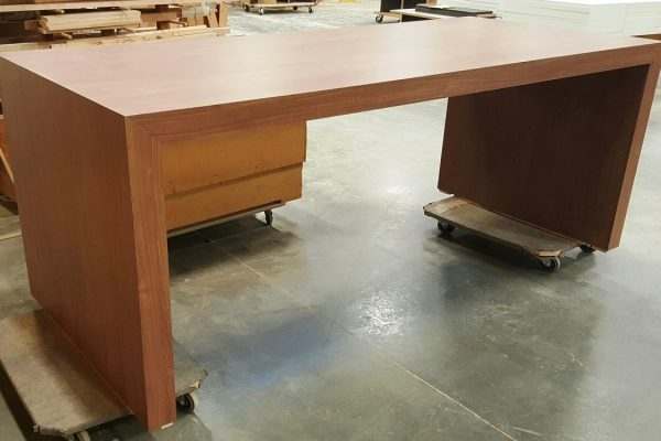 """Laminate Table With 4"""" Thick Top & Gables"""