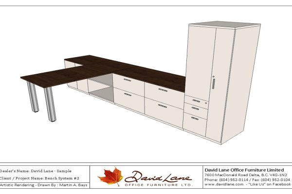 Bench System With Worksurface