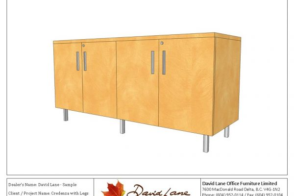 Credenza With Legs
