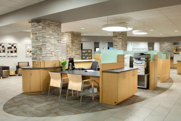 Desk & Storage - Customer Service Stations