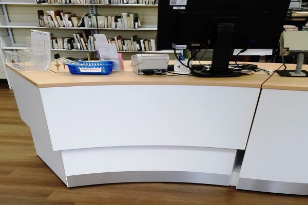 Height Adjustable Desk - Outside