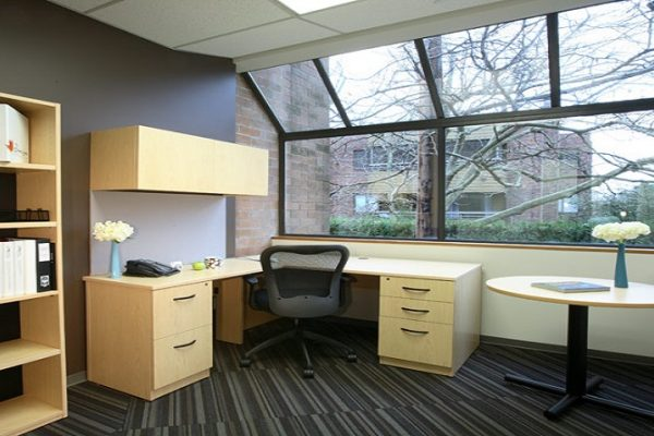 Maple Laminate Office Suite