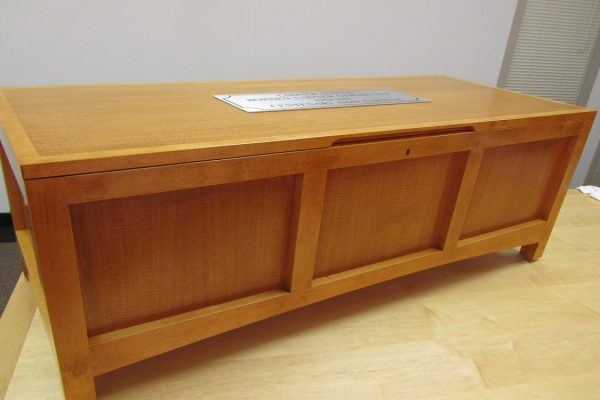 Custom Blanket Box