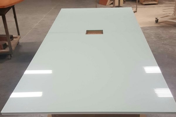 Polar Lami Glass Conference Table Top