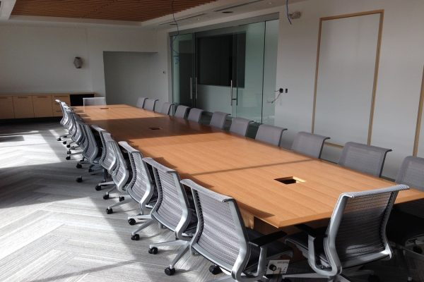 Quarter Cut Veneer Boardroom Table