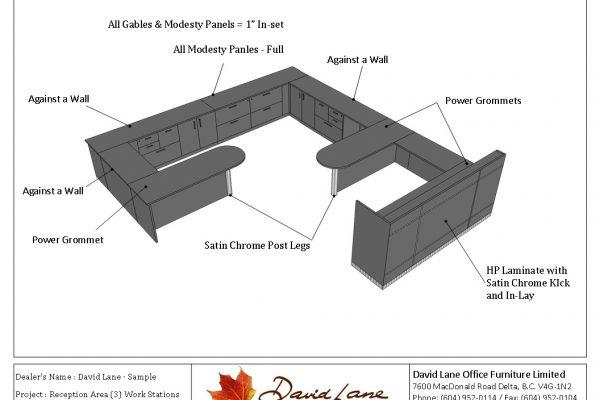 Reception Area - Multi Desk Seating