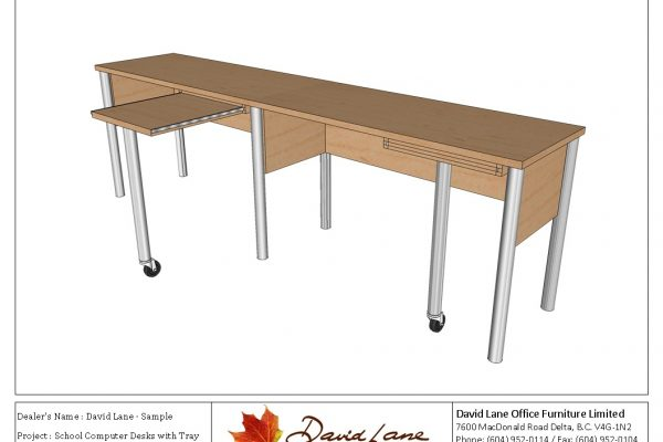 Computer Desks With Pull Out Writing Surface