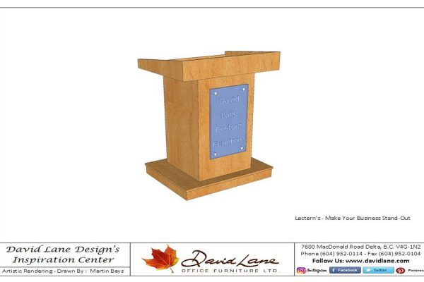 Lecterns - Any Style To Suit Your Business