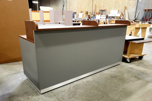 High Pressure Laminate Guest Check-In Counter